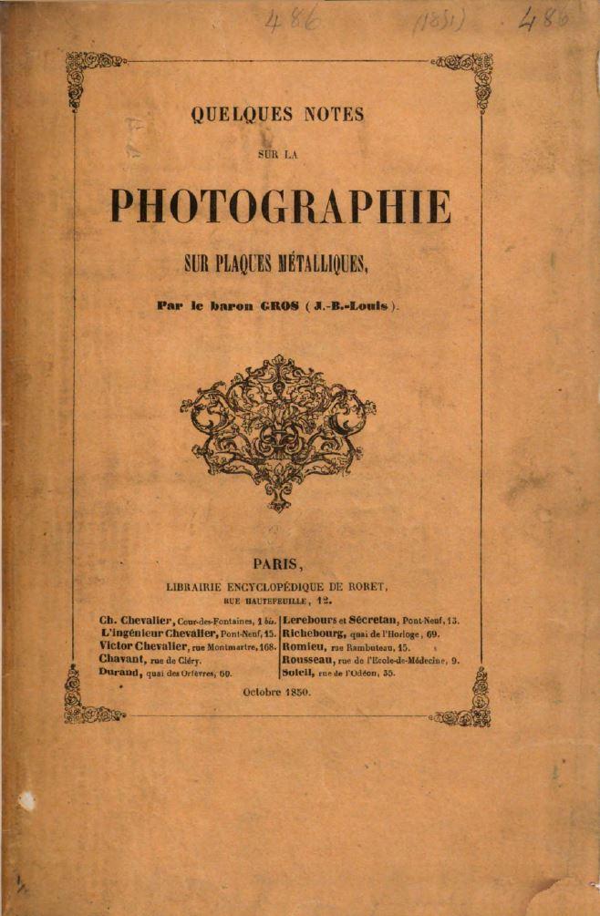Daguerréotype : quelques manuels historiques